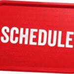 Vasaros sezono tvarkaraščiai bus paskelbti kovo 20d.